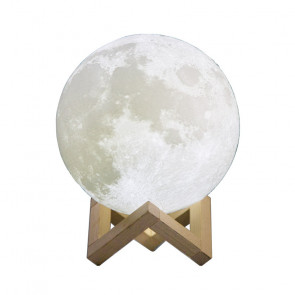CPLA Lighting Night Light LED 3D Printing Moon Lamp 7.1inch 18cm